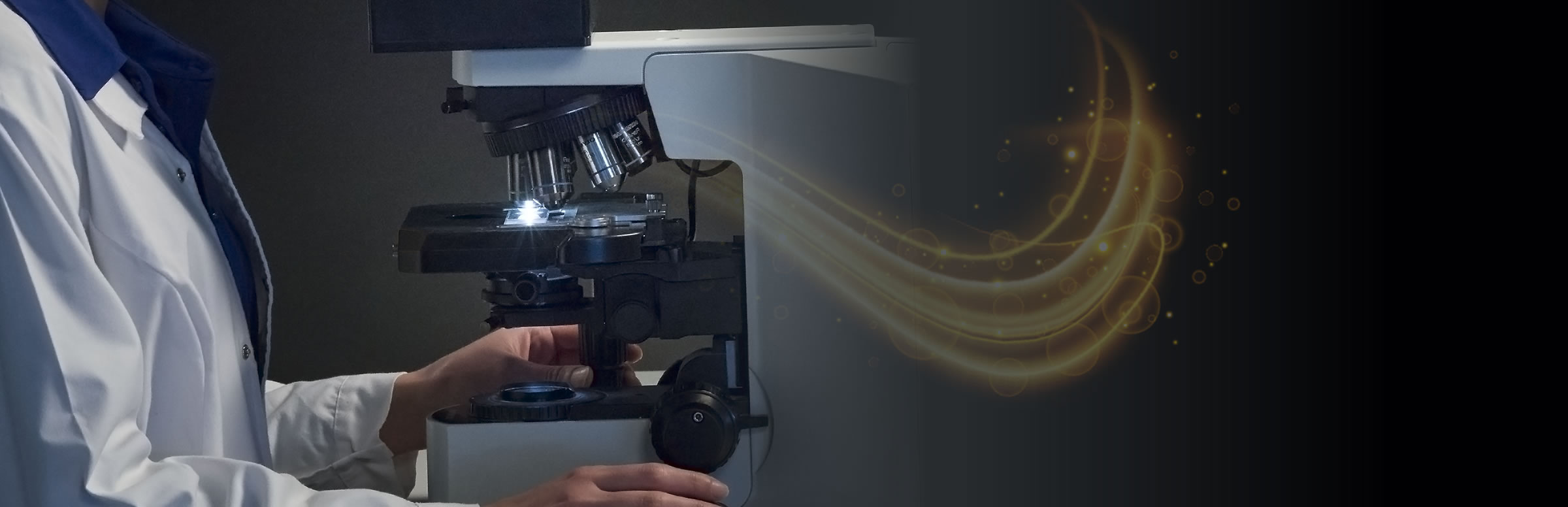 Microscope with magic