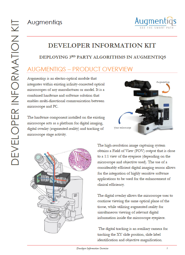 digital pathology ai platform software development