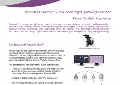 Inspirata Augmentiqs Digital Pathology Integration