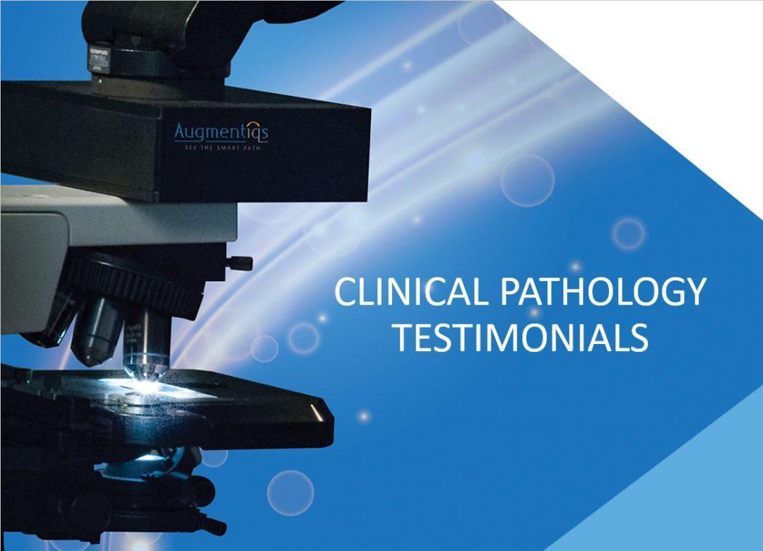 Clinical Pathology Testimonials
