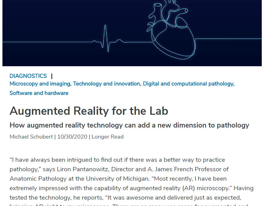 The Pathologist – Augmented Reality Microscopy