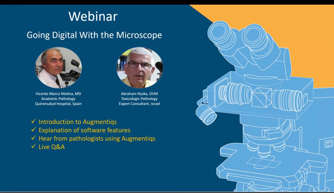 Webinar – Going Digital With The Microscope