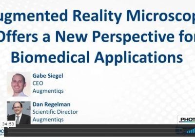 Photonics Webinar on Augmented Reality