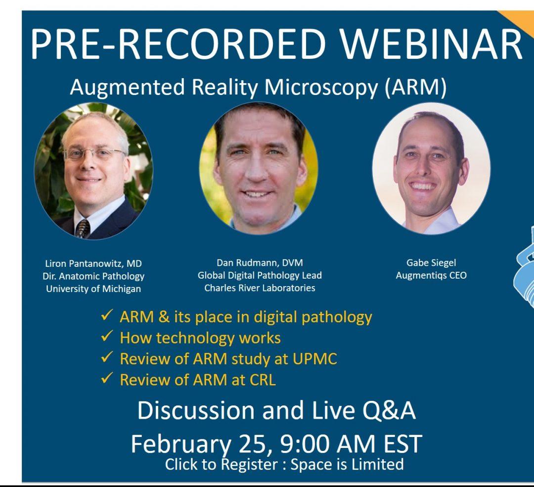 Dr. Pantanowitz & Dr. Rudmann – ARM Webinar – Part 1